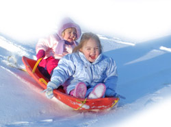 Let Your Kids Sledge Down Our Vast Mountains At Courchevel