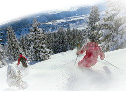Take To The Slopes At Courehevel
